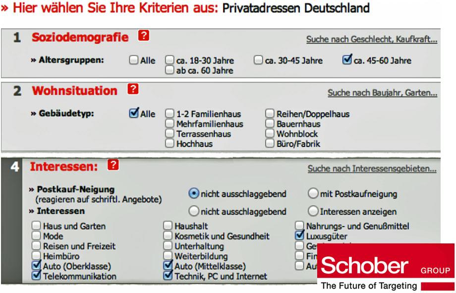 Adressenhandel In Deutschland Die Privilegierten G Gutjahrs Blog